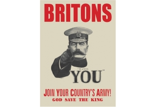 World War I Lord Kitchener Recruitment Poster - A3