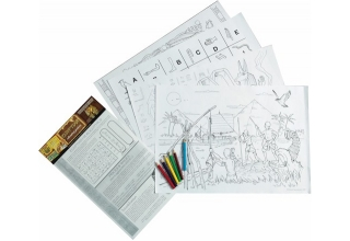 Egyptian Educational Colouring Posters