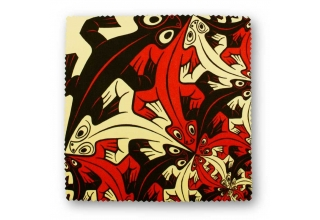 Microfibre cloth, MC Escher Artwork