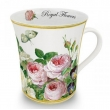 Ceramic Mug, 'Royal Flo..