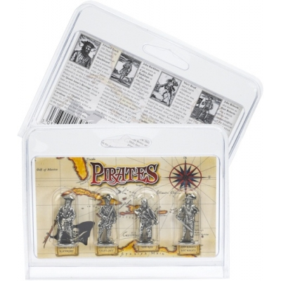 Pirate Pack of 4 Miniature F..