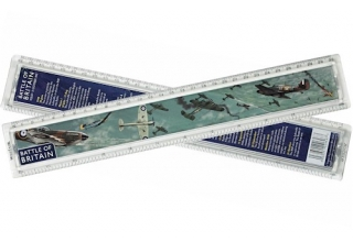 Battle of Britain History Ruler - 30cm