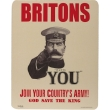 World War I Lord Kitchener Recruitment Mousemat