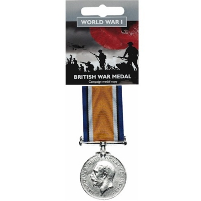 Full-Size British War Medal Replica