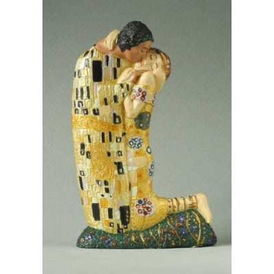 Miniature Sculpture, Gustav Klimt, The Kiss