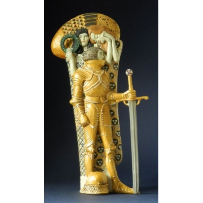 Gustav Klimt The Knight, Figurine