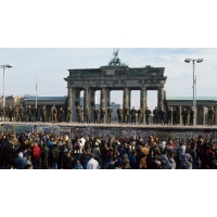 Bookmark 'Brandenburg Gate', gold-plated