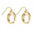 Earrings 'Louise' clear..