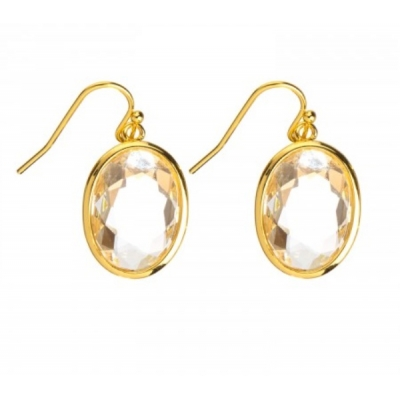 Earrings 'Louise' clear crystal
