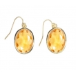 Earrings 'Louise' yello..