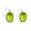 Earrings 'Louise' emerald