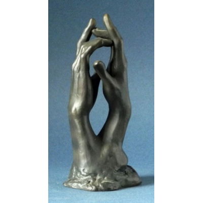 Auguste Rodin Cathedral Hands