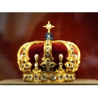 "Keyring ""Prussian Crown"""
