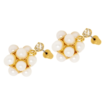 "Earrings ""Pearl Ball"""