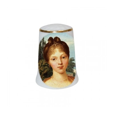 "Thimble ""Queen Louise of Prussia"""