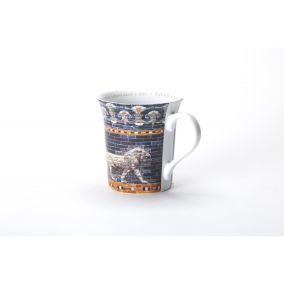 Mug 'Lion from Ishtar Gate' Pergamon Museum Berlin