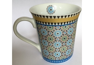 Mug with Moroccon design 'The Oriental garden Berlin'