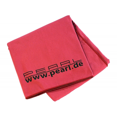 PEARL Microfaser-Bath towel 180x90 cm red