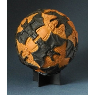 Sphere with Angels and Devils MC Escher
