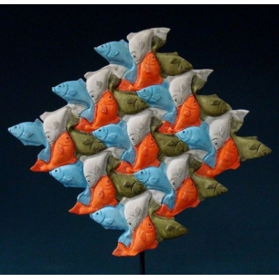 Fish - MC Escher