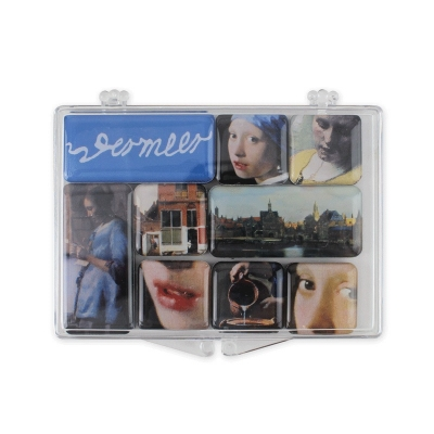 Refrigerator Mini Magnets - Johannes Vermeer set of 8