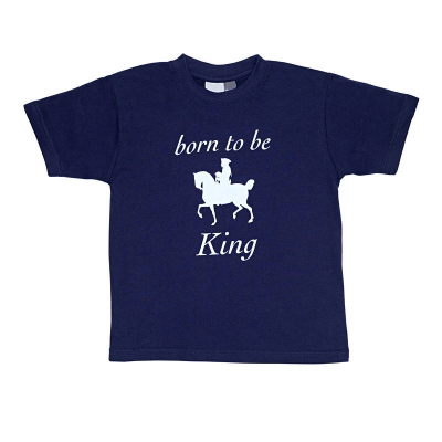 "Kids T-Shirt ""Born to be King"""