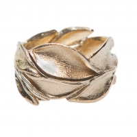 Unisex Ring Leaves