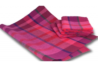 Dishcloth Bauhaus Pink Red