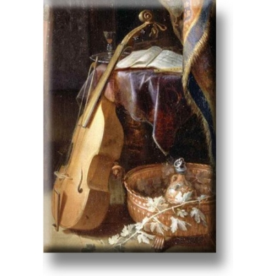 Fridge Magnets Cello Gerrit Dou 1613-1675