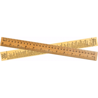 World War I History Ruler 30cm
