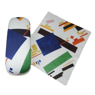 Glasses Case and Cleaning Cloth: Kazimir Malevich, Suprema..