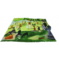 Eye Glasses Case and Cleaning Cloth: Georges Seurat, In the Park