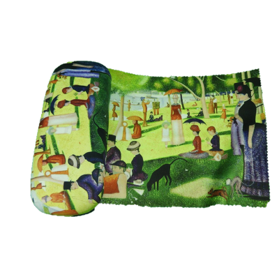 Eye Glasses Case and Cleaning Cloth: Georges Seurat, In th..
