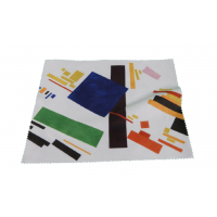 Glasses Case and Cleaning Cloth: Kazimir Malevich, Suprematist Composition