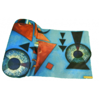 Glasses Case and Cleaning Cloth: Wassily Kandinsky, Molle Rudesse