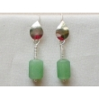 Roman hook earrings wit..