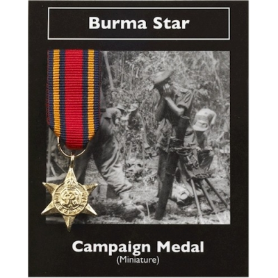 BURMA STAR BRITISH CAMP..