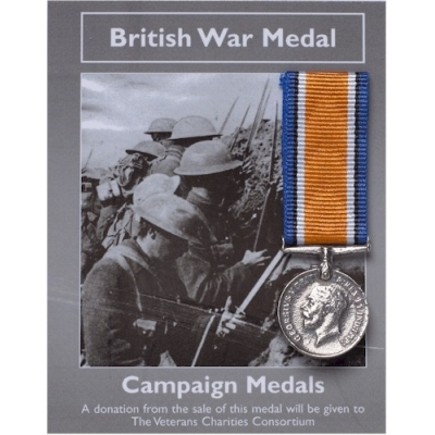 BRITISH WAR MEDAL MINI ..