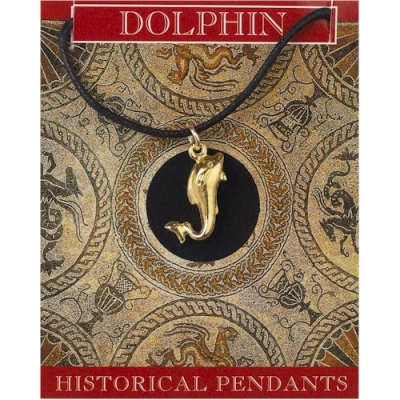 Dolphin Pendant Gold Plated