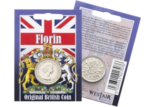 Elizabeth II - Floring Original Coin in a Pack