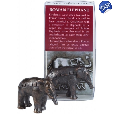 Elephant Bronze-Plated