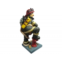 The Firefighter - Mini Edition - The Comic Art of Guillermo Forchino