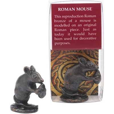 Mouse Bronze-Plated