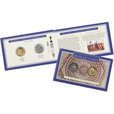 Roman Replica Coin Set ..