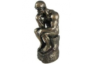 Auguste Rodin The Thinker - a Mini Bronze