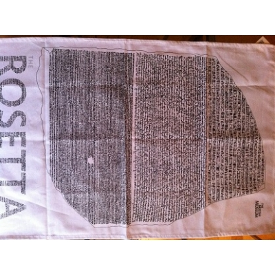 Tea Towel Rosetta Stone