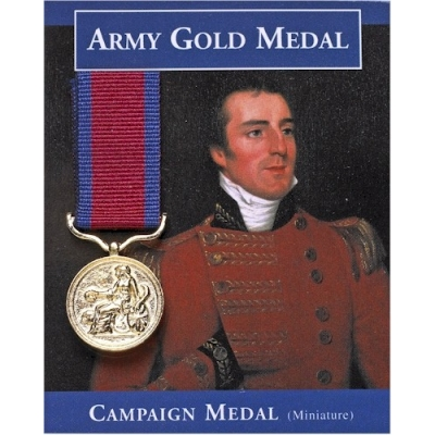Army Gold Medal miniature