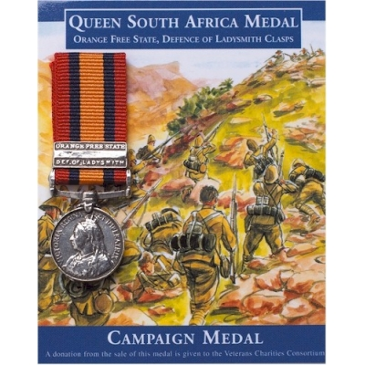 Queen South Africa Medal