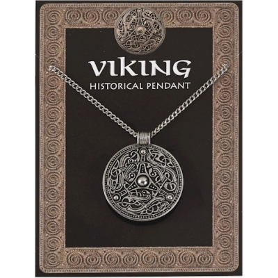 Viking Disc Pendant Pew..