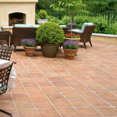 * Terracotta Cleaning and Sealing Combo - OUTSIDE - 10m2